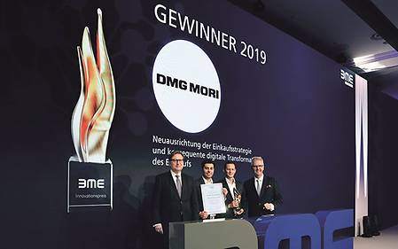 DMG MORI receives BME innovation award 2019